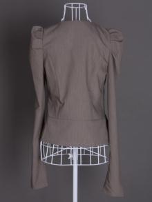 Дамско сако сиво
