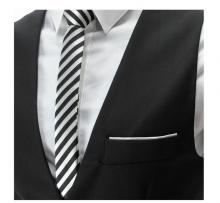 Спортно-елегантен мъжки елек черен