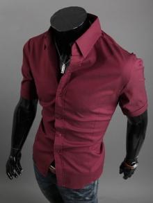 Стилни мъжки ризи с къс ръкав ПРОМО ПАКЕТ