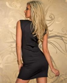 """Черна вечерна рокля ''Стела""""'"""