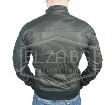 """Колекция кожени якета яке """"Рамос"""" еко-кожа - Черно"""
