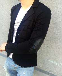 Спортно-елегатно сако с кръпки на ръкавите НОВ МОДЕЛ