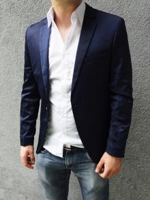 Официално мъжко сако Синьо Супер качество !