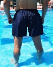 Мъжки шорти модел 2017 - тъмно сини