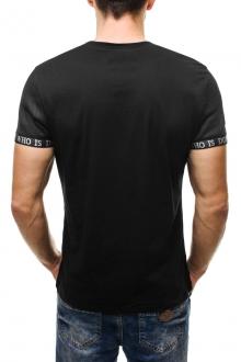 Тениска Who - черна