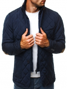 Елегантно мъжко яке Масимо - синьо