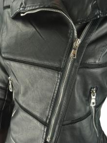 Дамско яке Елис, черно