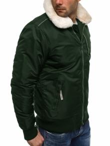 """Зимно мъжко яке """"Гънар"""" - зелено"""