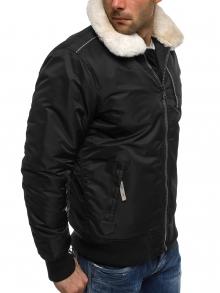 """Зимно мъжко яке """"Гънар"""" - черно"""