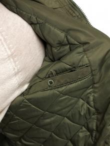 Стилно мъжко яке Матс - зелено
