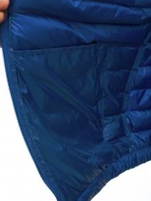 Мъжко шушляково яке Хефест - светло синьо