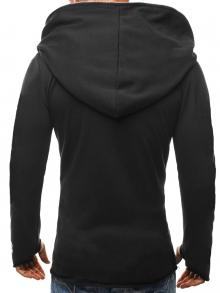 """Мъжки суичър """"Асасин"""" - модел 2017г. черен"""