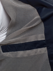 Пролетно яке с изчистен, класически дизайн - тъмно синьо