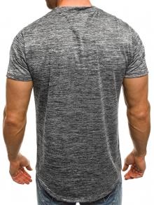 Мъжка тениска ''The X'' - тъмно сива