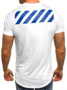 Мъжка тениска ''Army'' - бяла
