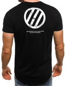 """Мъжка тениска """"Unknown"""" - черна"""