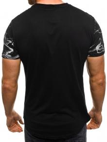 """Мъжка тениска """"W"""" - черна"""
