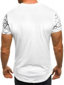 """Мъжка тениска """"Censored"""" - бяла"""