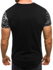 """Мъжка тениска """"Censored"""" - черна"""
