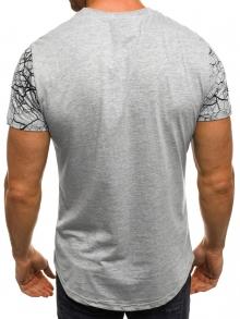 """Мъжка тениска """"Censored"""" - сива"""