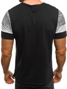 Мъжка тениска ''Confident'' - черна