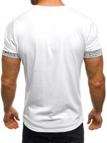 Мъжка тениска Speeds&Rocked - бяла