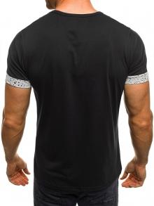 Мъжка тениска Speeds&Rocked - черна