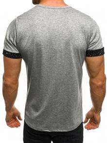 Мъжка тениска Speeds&Rocked - сива