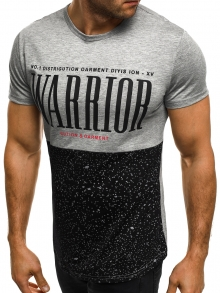 Мъжка тениска Gution&Oarment - сива
