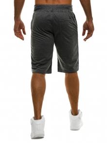 Мъжки шорти Jax - тъмно сиви