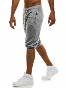 Мъжки шорти Loop - светло сиви