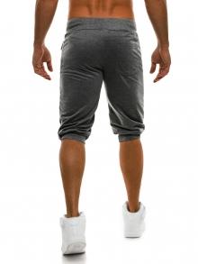 Мъжки шорти Loop - тъмно сиви