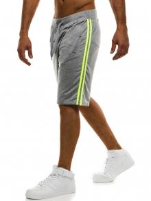 Мъжки шорти Sport - светло сиви