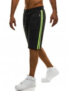 ПРОМО! Мъжки шорти Sport - черни