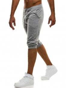 Мъжки шорти Street - светло сиви