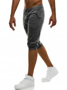 Мъжки шорти Street - тъмно сиви