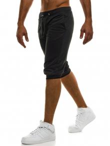 Мъжки шорти Street - черни