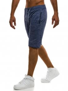 ПРОМО! Мъжки шорти SHOW - тъмно сини