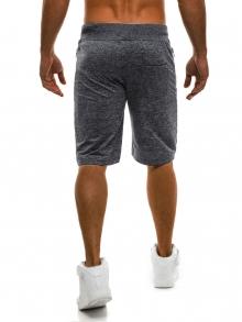 Мъжки шорти VITALITY - тъмно сиви