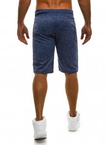 Мъжки шорти Exam - тъмно сини