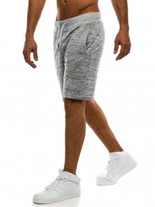 Мъжки шорти J.Style - светло сиви