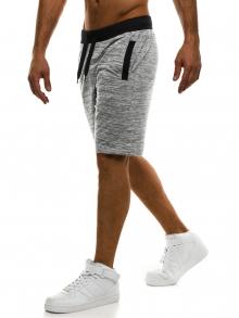 Мъжки шорти J.Style - сиви