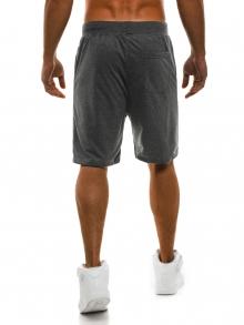 Мъжки шорти Рамирес - тъмно сиви