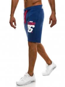 Мъжки шорти Athletic Style - светло сини
