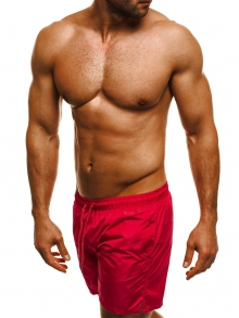 Мъжки шорти лято 2018 - червени