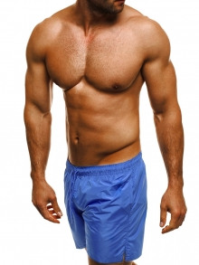 Мъжки шорти лято 2019 - синьо