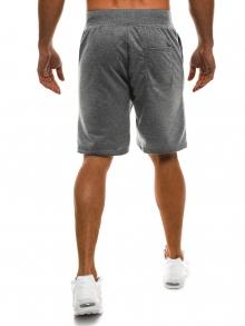 Мъжки шорти Jack - тъмно сиви