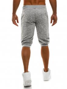 Мъжки шорти Run - светло сиви