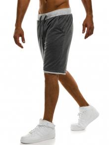 Мъжки шорти Poison - тъмно сиви
