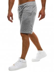 Мъжки шорти Fasio - светло сиви